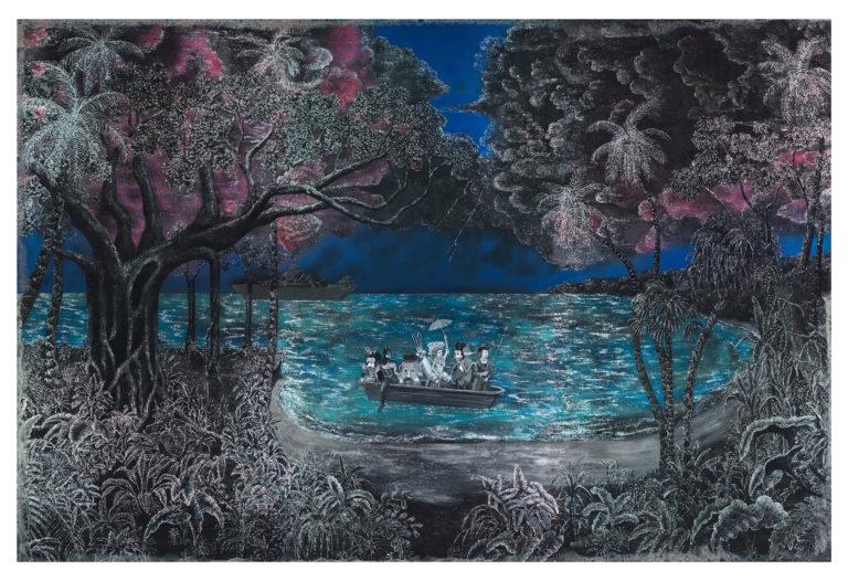 The Landing After Bierstadt