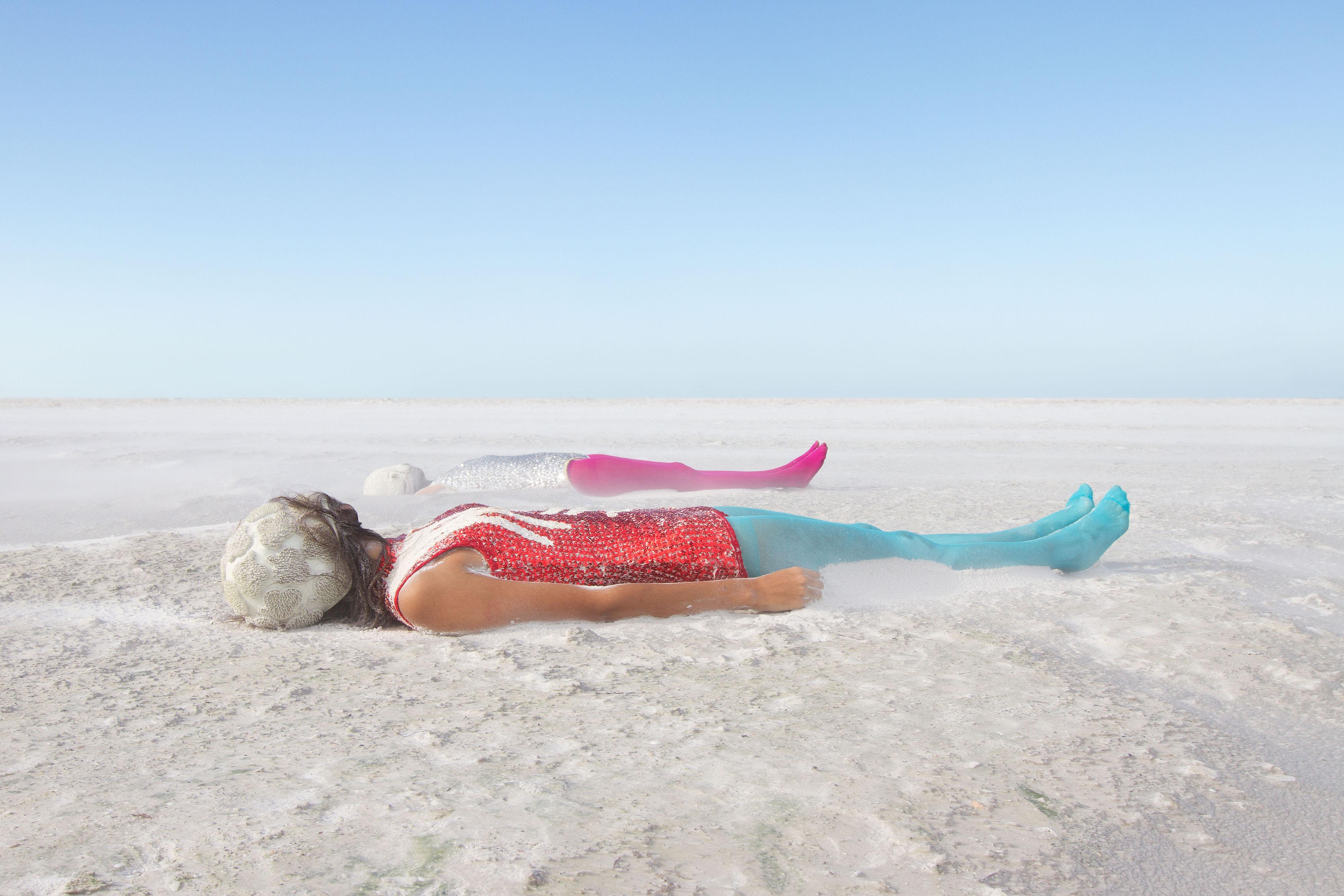 Selina Roman - Untitled (Sand), 2012